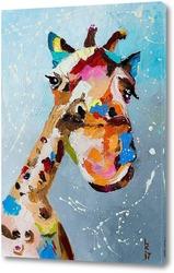 Картина Смешной жираф