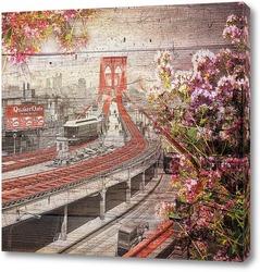 Бруклинский мост 1903 год