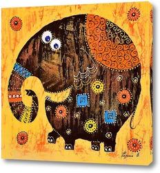 Постер Весёлый слоник