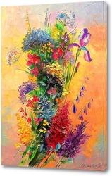 Картина Композиция полевых цветов