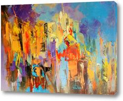 Картина Город-праздник