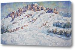 """Картина: """"Вершина горы Фишт"""""""