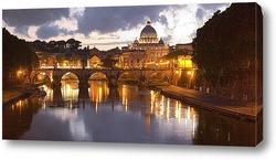 Постер Мост Святого Ангела