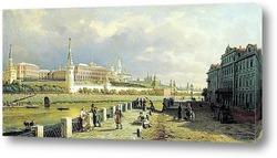 Картина Вид Московского Кремля