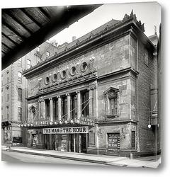 Постер Театр Иллинойс, Чикаго, 1907