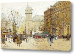 Картина Площадь Chatalet