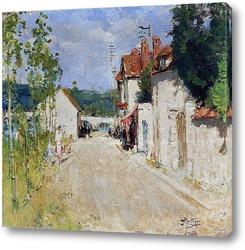 Картина Деревенская улица