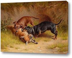 Картина охота , 1912