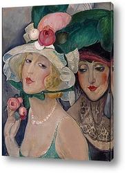 Картина Лили с подругой