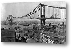 Вид Нью-Йорка с воздуха,1940г.