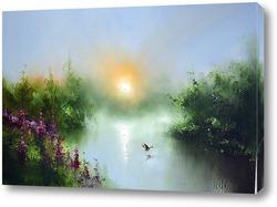 Картина Июльское утро