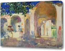 Картина Остатки романских в Равелло