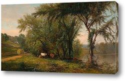 озеро, Путнам Каунти, Нью-Йорк, 1863