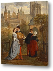Сцена из Фауста Гете