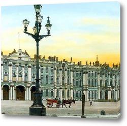 Постер Санкт-Петербург. Эрмитаж, дворцовая площадь