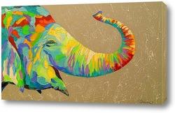 Картина Улыбчивый слон
