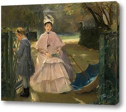 Картина Няня и ребенок