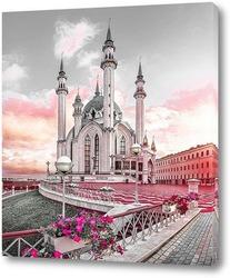 Постер Цветы в Казанском Кремле