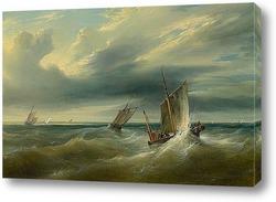 Картина Море, 1827