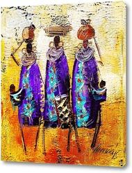 Картина Африканцы