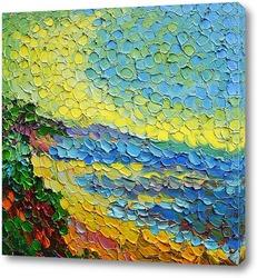 Картина Песок у моря.