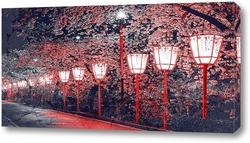 Постер Ночной Киото