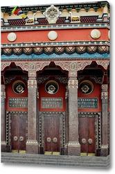 Постер Врата в Нирвану. Дацан.