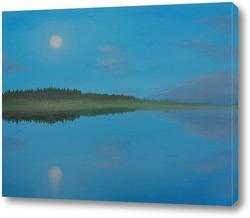 Картина Белая ночь над Мологой