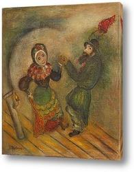 Постер Танцующая пара