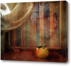 Oranges in Rustic Still Life