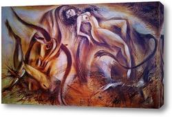 Картина Зевс и Венера
