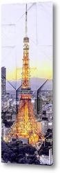 Постер Токийская башня