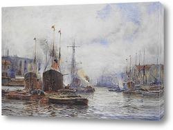 Оживленная гавань