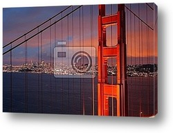 Постер Golden Gate Bridge, San Francisco..