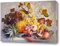 Картина Натюрморт с ананасом
