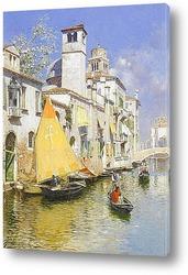 Семейный пикник на Венецианском канале