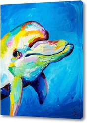 Картина Улыбка дельфина