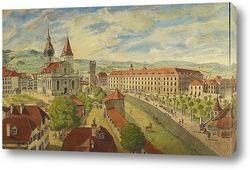 Картина Берн, святая церковь