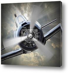 Постер Пропеллер самолёта