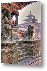 Постер Patan / Lalitpur - Nepal / Himalaya