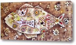 Картина Абстрактная рыба