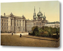Постер Одесса в 1890-1905 гг