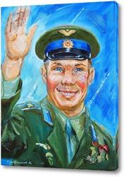 Постер Юрий Гагарин