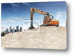 Постер Building Lot