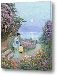 Постер Японский сад