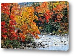 Постер Осень - радостное настроение