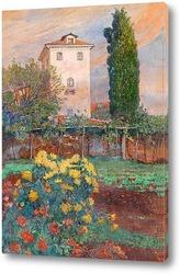 Картина Сад в Бриони