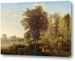 Пейзаж с рисовальщиком