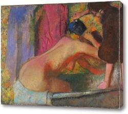 Постер Женщина в ванной