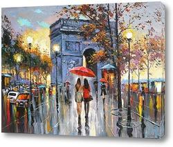 Картина Мы встретились в Париже